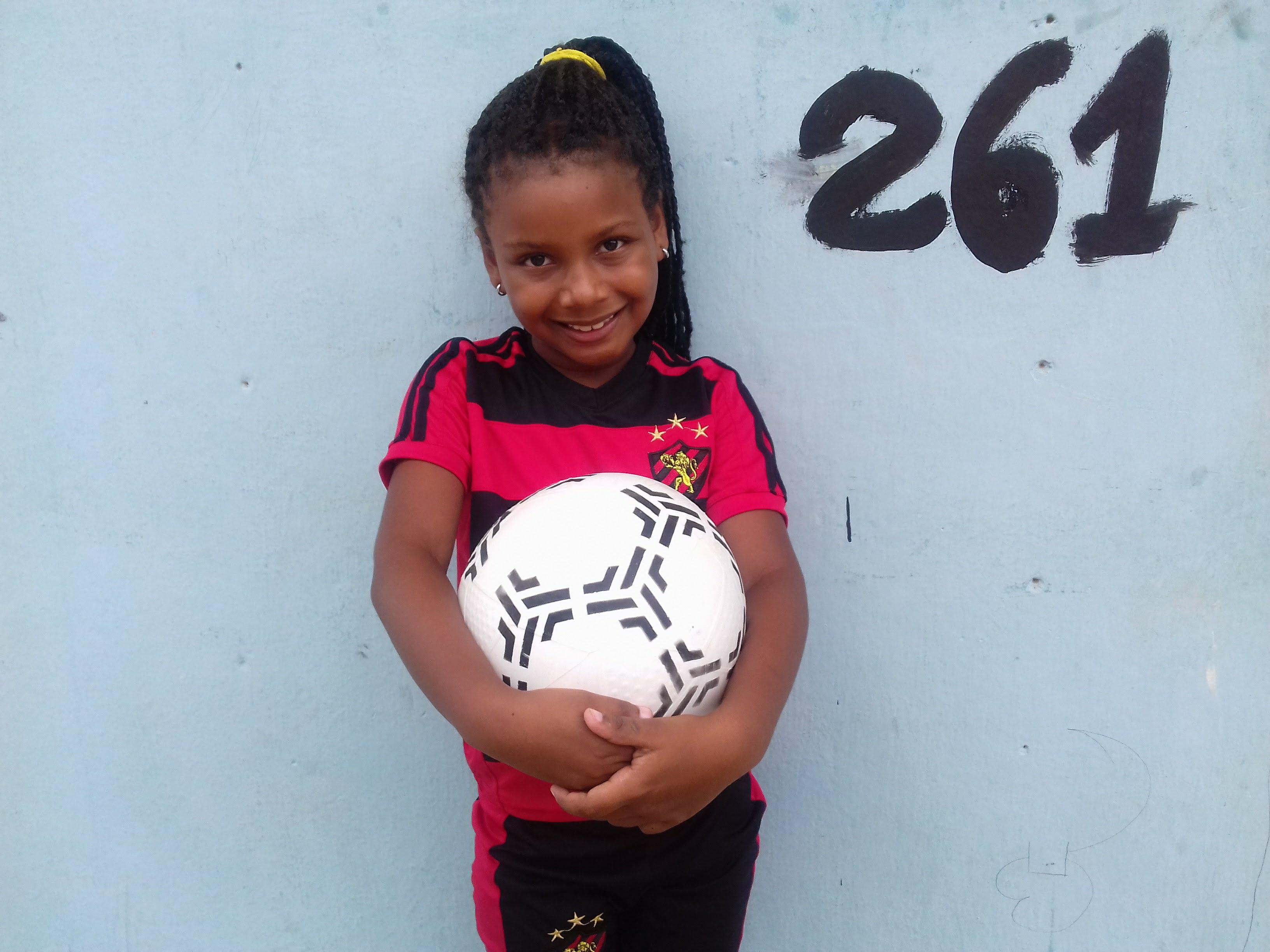 Meninas no futebol