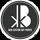logo kkb custom art prints