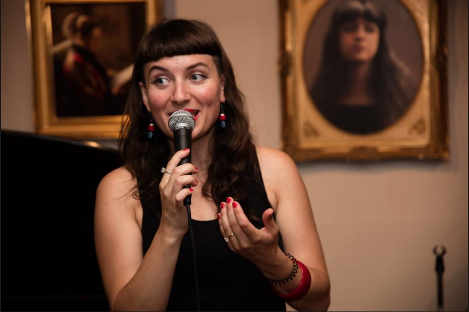 Simona Minns @ Gallery opening