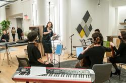 "Conducting ""Joan fo Arc, for String Quartet"""