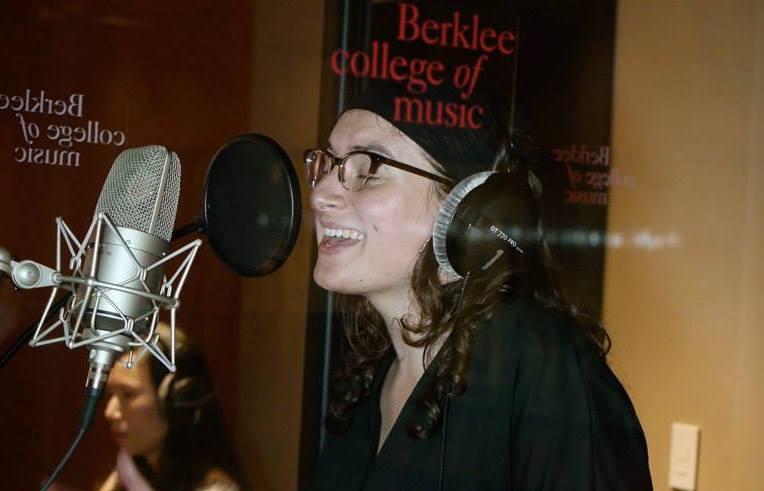 Recording session at Berklee