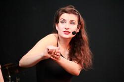 """""""A Hunger Artist"""" dance theater show"""