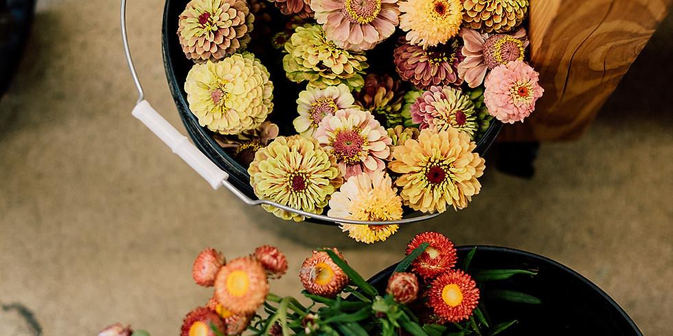 Ladies Night Out Flower Arranging Fun