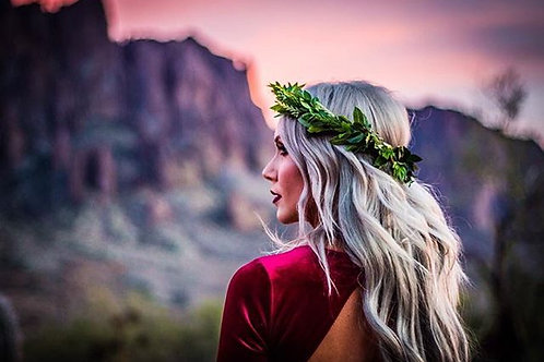 Bohemian Beauty Flower Crown