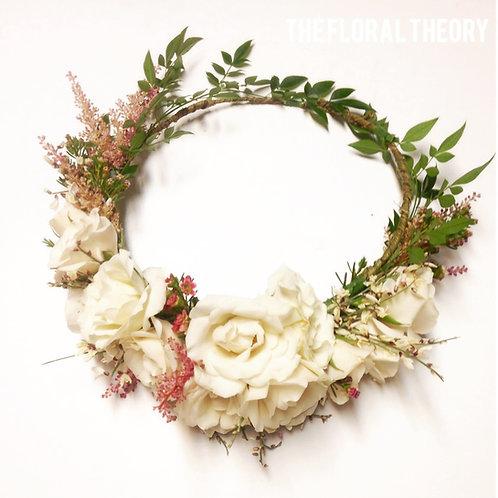 Standard Fresh Flower Crown