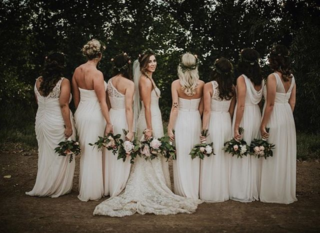 This wedding, that bride, those flowers, and the photographers captures