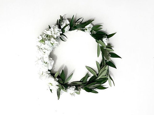 Simple Standard Fresh Flower Crown