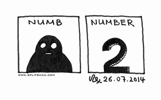 Numb and Number