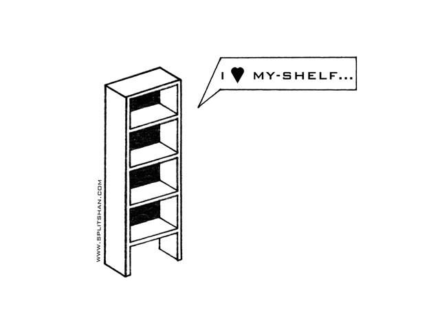 I love myshelf.