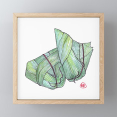 >>ZONG ZI<<, FRAMED ART-PRINT