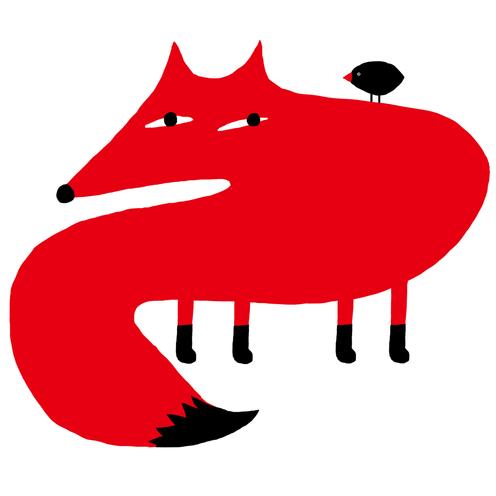 Fox and Bird.