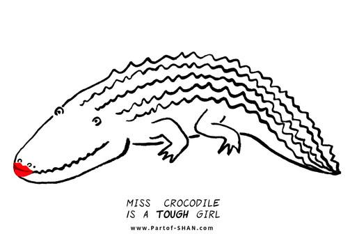 Miss Crocodile