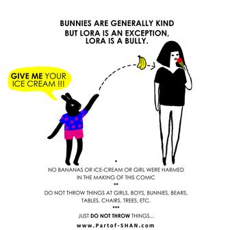 Lora the bully.