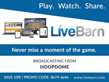 Promotional Advertisement. LiveBarn Play, Watch, and Share. Save 10% Promo Code 8e74-da7e