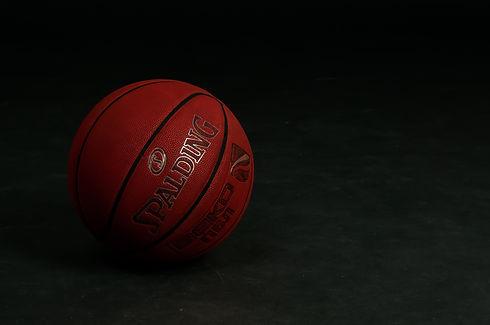 Spalding brand basketball