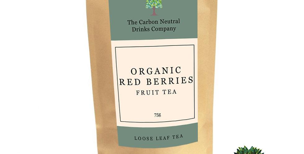 Organic Red Berries - Loose Leaf