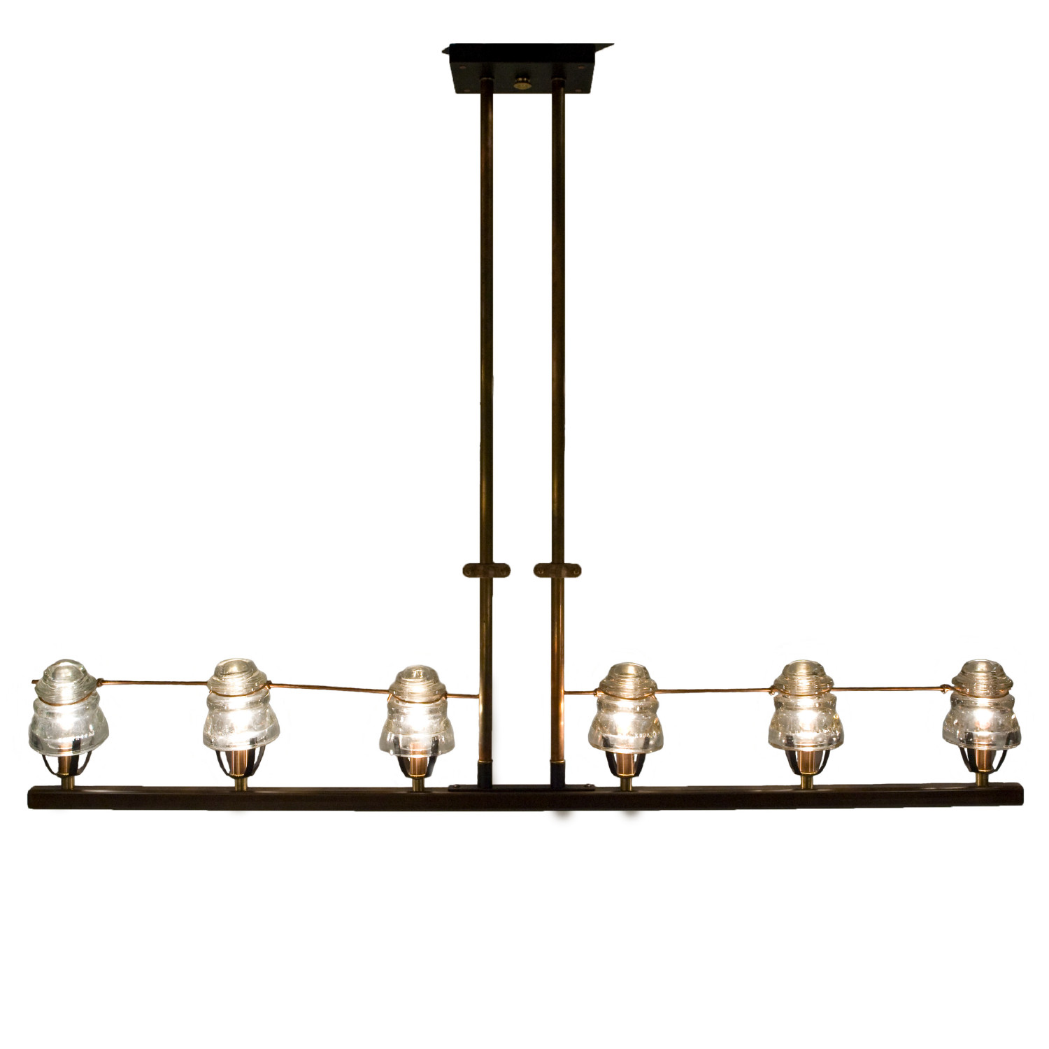 telegraph linear custom lighting burlington conant metal light