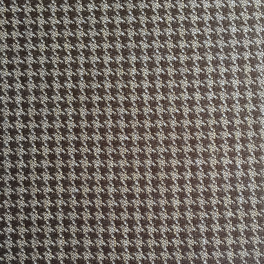 "Astley Crossing Chocolate *KB Fabrics Exclusive Pattern* ·42% Polyester, 39% Acrylic, 19% Recycled Cotton ·54"" ·Repeat: H: 0.88"" x V: 0.38"" ·30,000 Double Rubs ·Uses: Upholstery, Residential, Contract ·Cleaning Code: S ·Railroaded: Yes ·Country of Origin: USA"