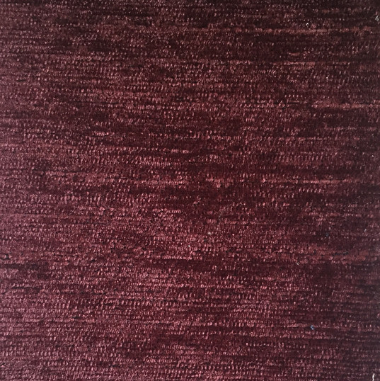 "Harriet Burgundy ·100% Polyester ·54"" ·15,000 Double Rubs ·Cleaning Code: S ·Railroaded ·Uses: Upholstery"