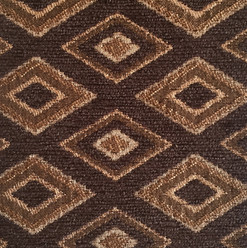 """Genesis Spice ·100% Polyester ·54"""" ·15,000 Double Rubs ·Repeat: H: 1.75"""" x V: 3"""" ·Cleaning Code: S ·Railroaded ·Uses: Upholstery"""