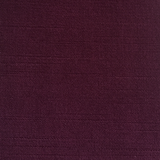 "Langdon Merlot ·100% Polyester ·54"" ·100,000 Double Rubs ·Repeat: H: 2.25"" V: 8.56"" ·Cleaning Code: S ·Uses: Upholstery ·Made in USA"