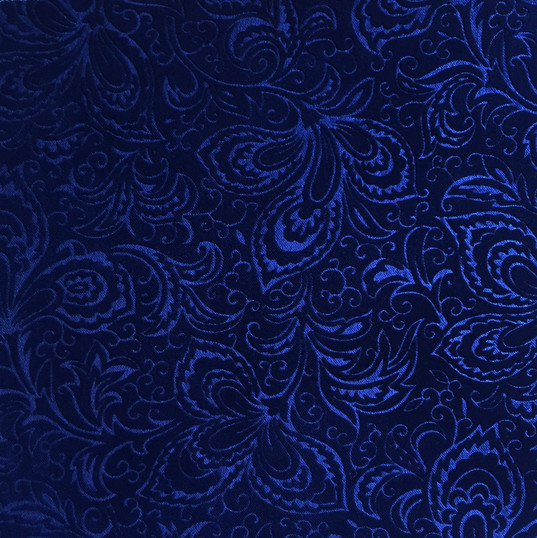 "Porto Embossed Indigo ·100% Polyester ·54"" ·100,000+ Double Rubs ·Repeat: Continuous Pattern ·Uses: Upholstery, Residential, Contract, Hospitality, Commercial ·Cleaning Code: S ·Railroaded: No ·Country of Origin: USA"