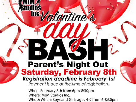 Valentines Bash Parents NightOUT