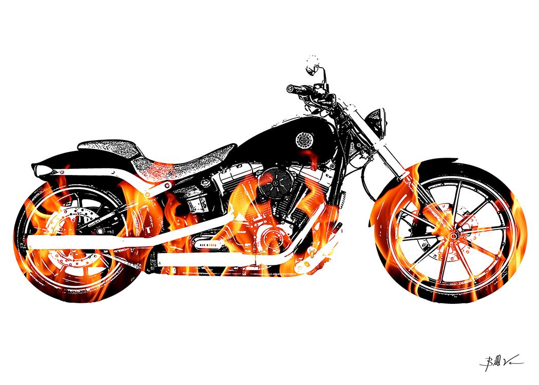 Harley Breakout Fire