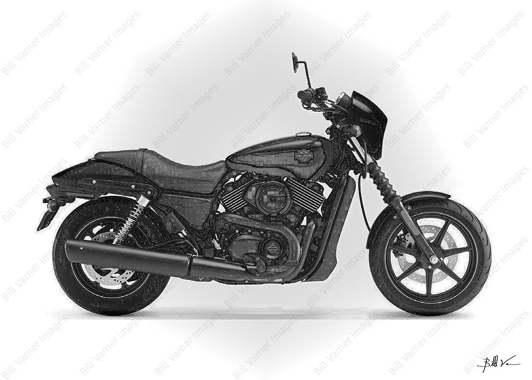 Harley-Davidson-Street-750 Metal