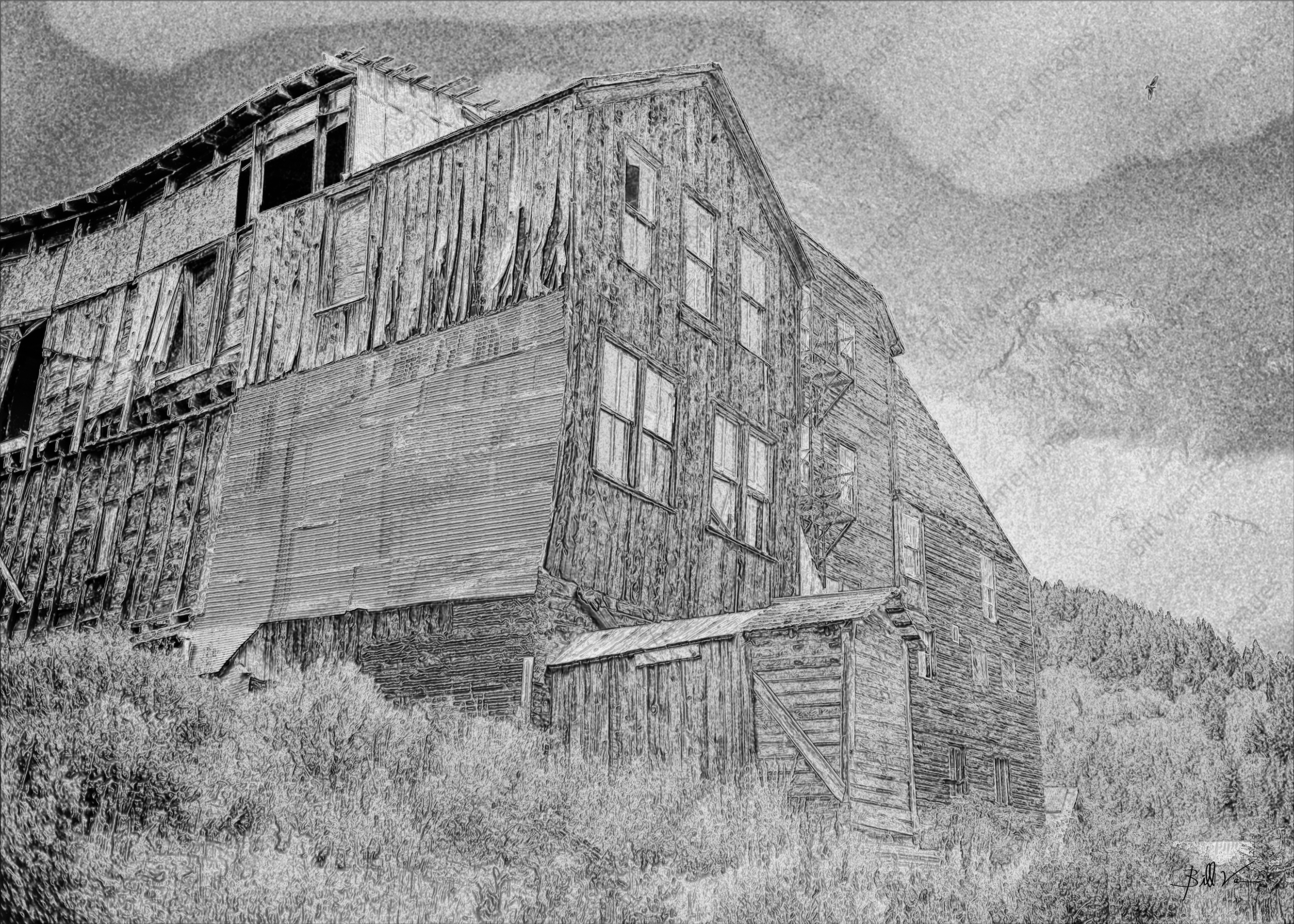 Mine Building