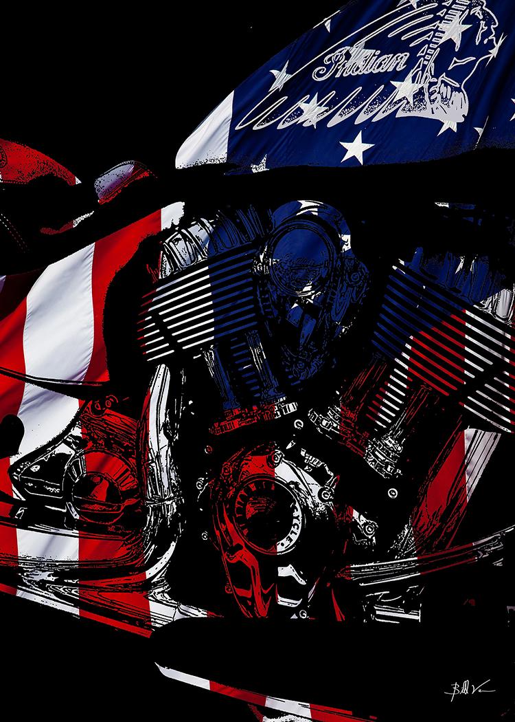 Chief USA Flag