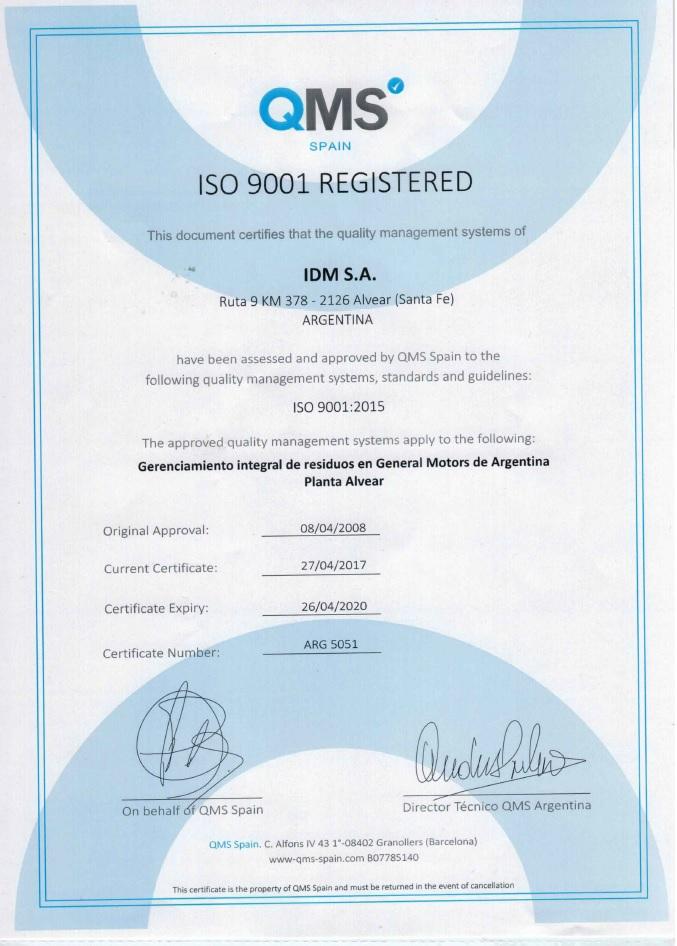 2020 04 26 ISO 9001 GM