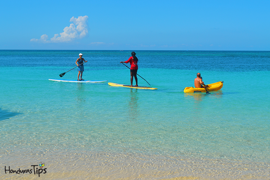 Roatan - SUP Beautiful and Calm