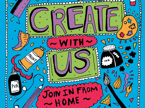 Create with Us! What's On Next Week