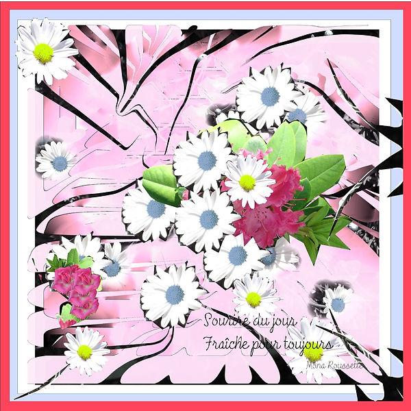 happy design-design textile- foulard-Sou
