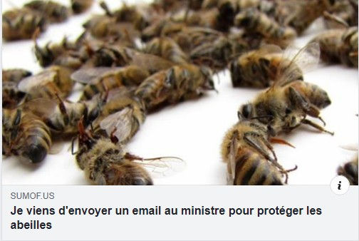 je viens d'envoyer un email au ministre