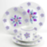 Design tasse et assiette porcelaine mona