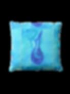 Coussin de sol - La cruche bleue - Mona