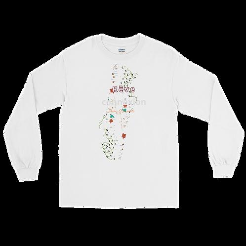Men's Long Sleeve Shirt Connexion au rêve