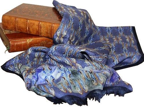 Écharpe laine et soie disponible