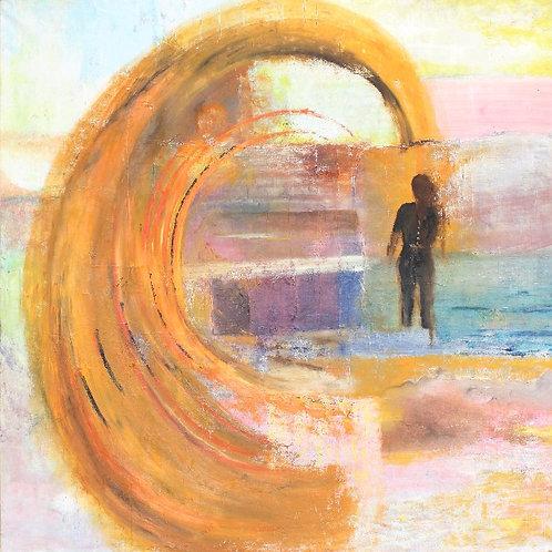 Peinture 150 X 150 cm