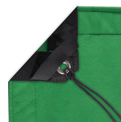 Tissu 12' x 12' Chromakey Green Screen