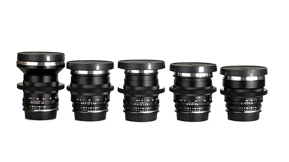 Zeiss ZF.2 EF Lens Package