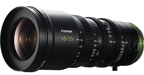 Objectif Fujinon E-Mount Cine Zoom MK18-55mm T/2.9