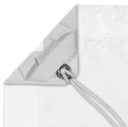 12' x 12' Grid 1/2 Fabric