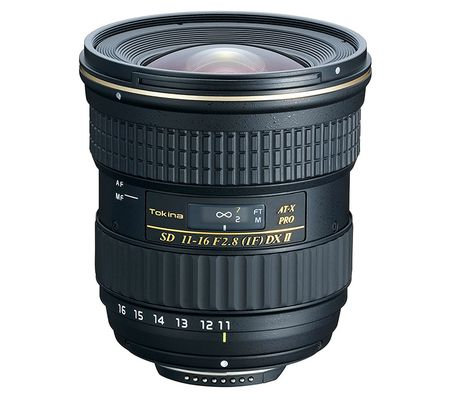 Tokina EF 11-16mm f/2.8 II IF DX ATX PRO Lens