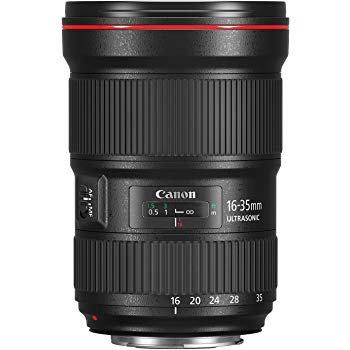 Canon EF 16-35mm f/2.8 II USM Série L Lens