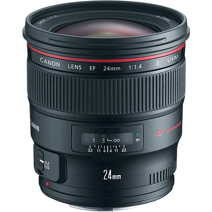 Objectif Canon EF 24mm f/1.4 II USM Série L