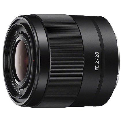 Objectif Sony FE E-Mount 28mm f/2