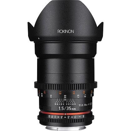 Rokinon Cine DS EF 35mm f/1.5 Lens